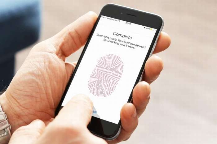 простая настройка Touch ID