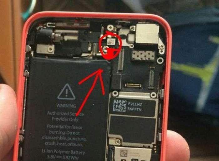 iphone 5 глючит тачскрин после замены