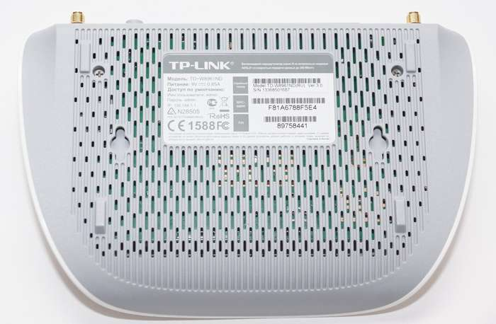 Обзор и настройка ADSL-модема TD-W8961ND от TP-Link
