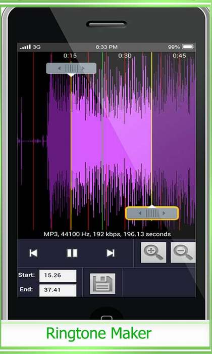 как обрезать песню на телефоне андроид без программ