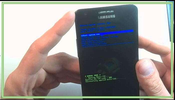 сброс до заводских настроек андроид самсунг