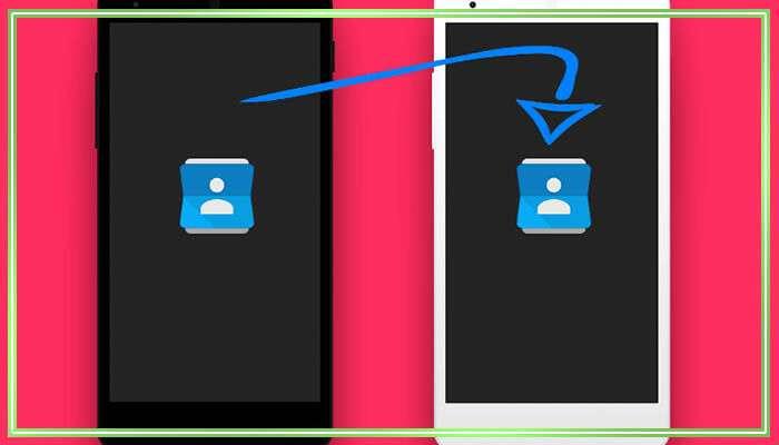 перенести контакты с андроида