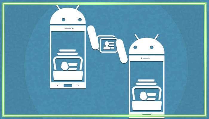 как с андроида перекинть контакты на андроид