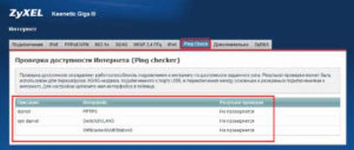Проверка доступности подключения Ping-Check