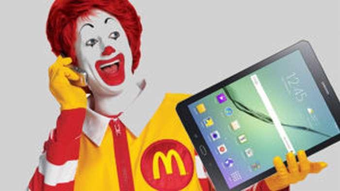 Wi-fi в Макдональдсе