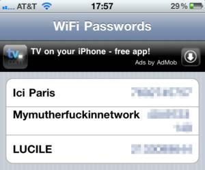 WiFiPasswords