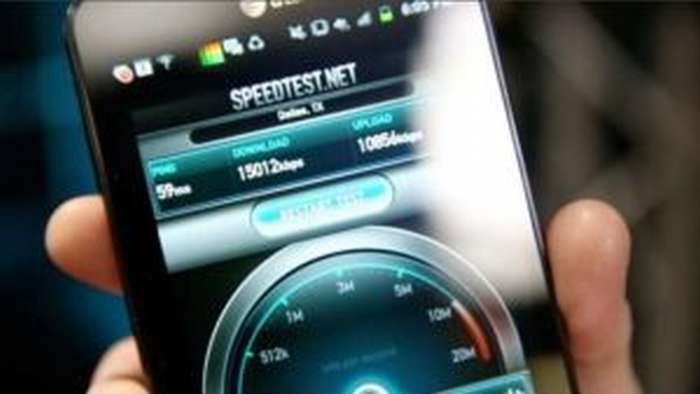 проверка скорости интернета на смартфоне