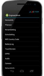 Калибровка экрана телефона Android (сенсора)