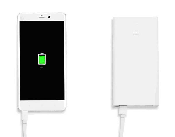 Заряд батареи Ксиоми