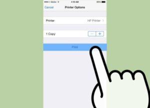 Как распечатать с iPhone X(s/r)/8/7/6 на принтер через WiFi