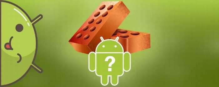 Как восстановить кирпич Андроид в домашних условиях
