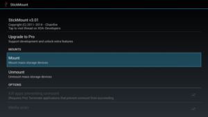 Получение Root на Android StickMount