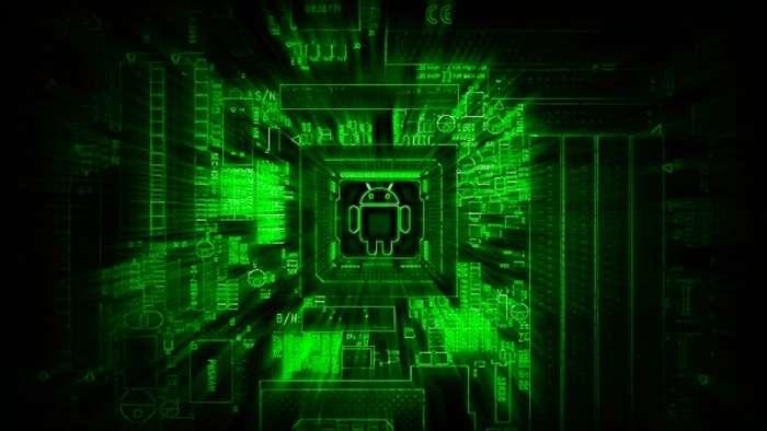 андроид матрица