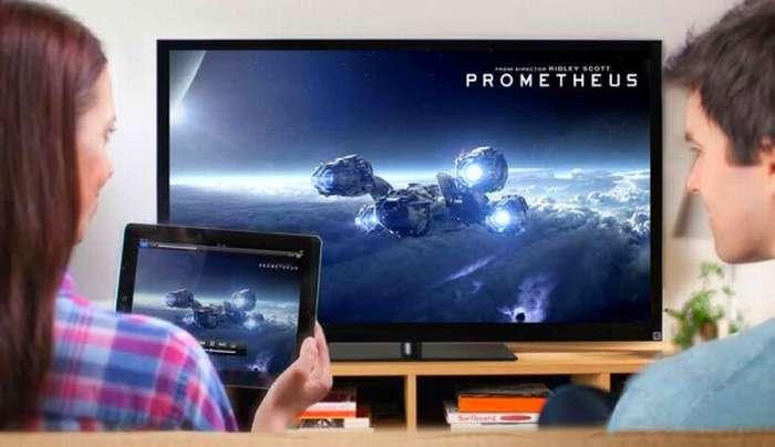 iPad and TV