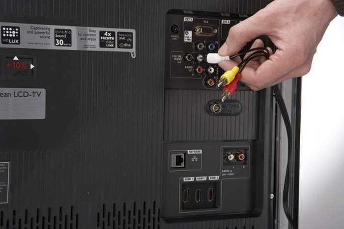 Подключение денди антенным кабелем