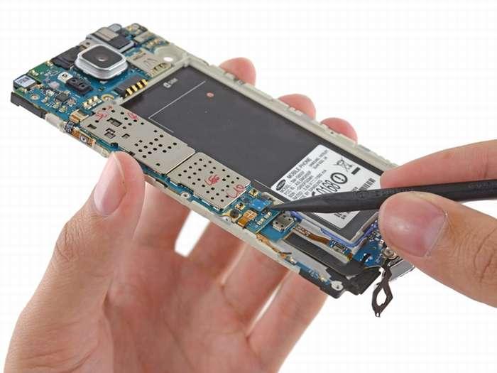 чиним смартфон от самсунг