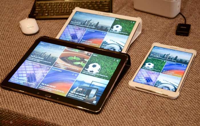 линейка планшетов от samsung